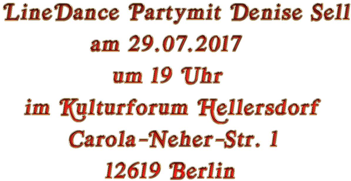Infos zur Party